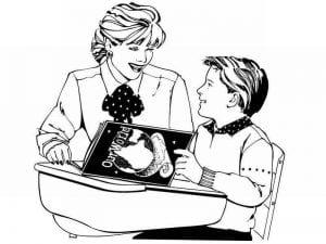 pro-shkolu-kartinki-raskraski-300x225 Раскраски про школу