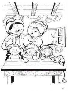 раскраски по православию для детей