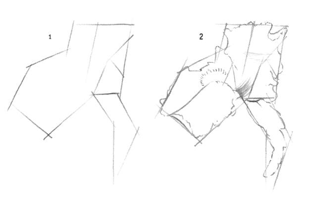 Как нарисовать ирис карандашом