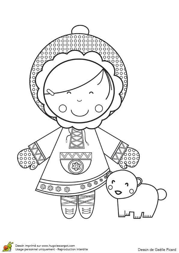 Национальный костюм раскраска бесплатно холод зима