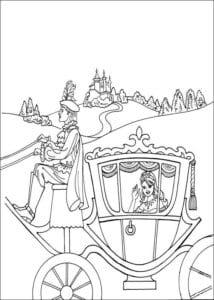 Принцесса Леонор раскраска бесплатно (15)