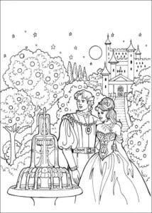 Принцесса Леонор раскраска бесплатно (24)