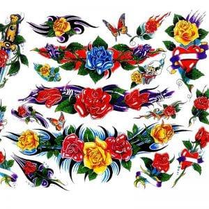 Татуировки раскраски