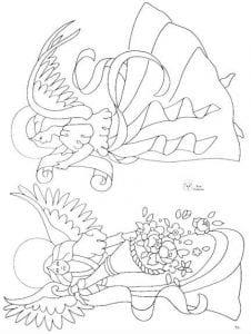 -картинки-раскраска-1-226x300 Ангел-хранитель