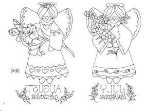 -православные-для-детей-раскраски-бесплатно-300x228 Ангел-хранитель