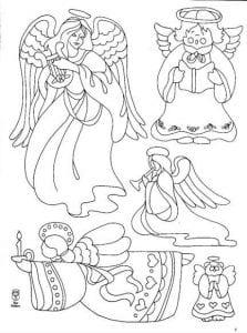 -православные-для-детей-раскраски-223x300 Ангел-хранитель