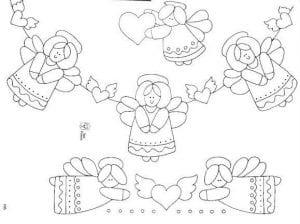 ангелы раскраска для воскресной школы
