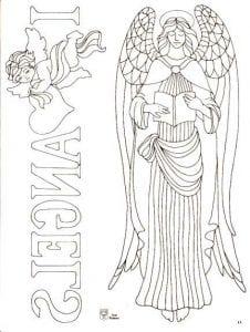 антистресс ангелы раскраски бесплатно