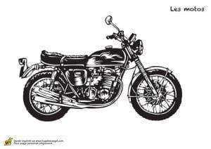 бесплатно мотоцикл раскраска смотреть