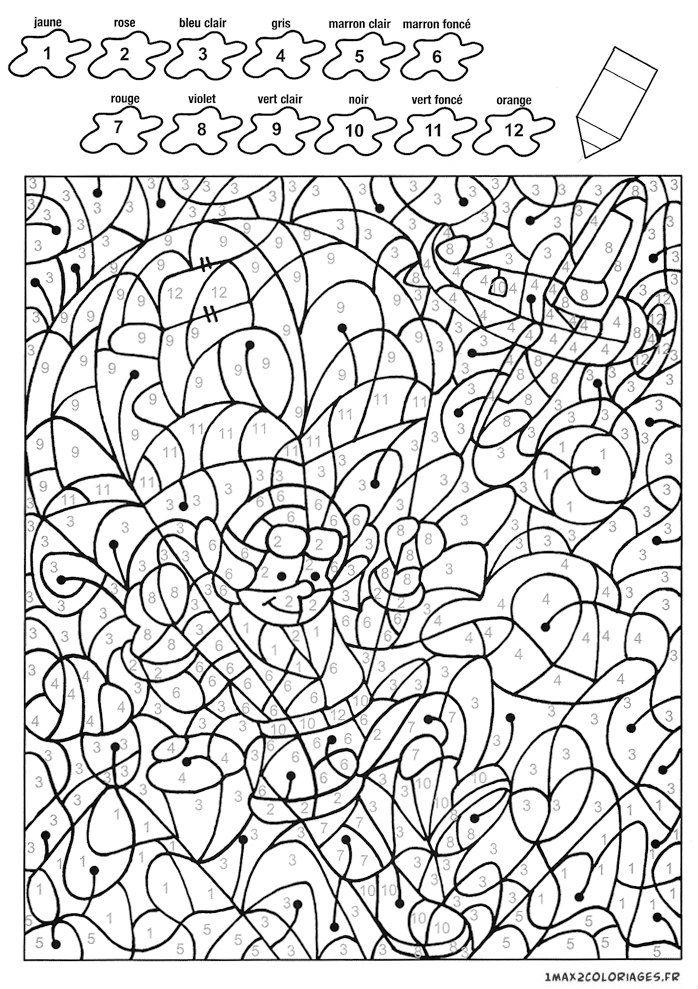 бесплатно раскраски по номерам для детей распечатать