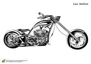 для мальчиков мотоциклы раскраски