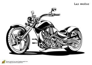 для мальчиков мотоциклы распечатать раскраски