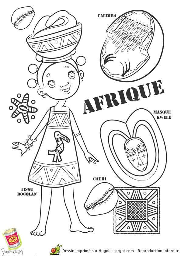 национальный-костюм-Африки-раскраска
