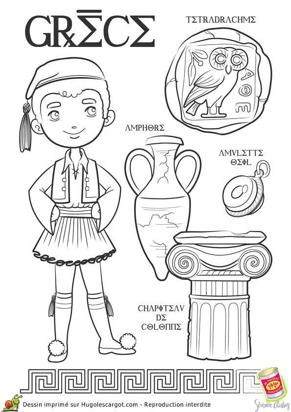 национальный-костюм-Греции-раскраска
