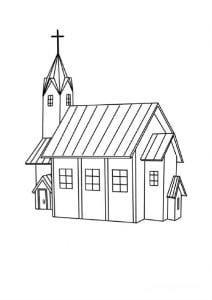 раскраски православие 2
