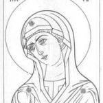 скачать православные распечатать раскраски 1