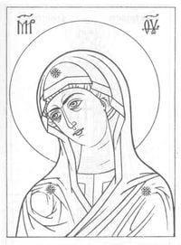-православные-распечатать-раскраски-1 Религия