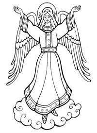 -православные-распечатать-раскраски Религия