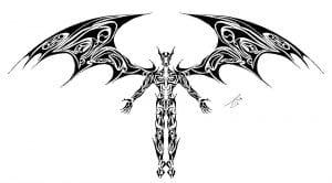 скачать татуировок на листе рисунки