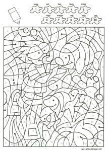 -номерами-цветов-раскраски-для-детей-214x300 Раскраски по номерам