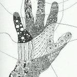 татуировка антистресс раскраска