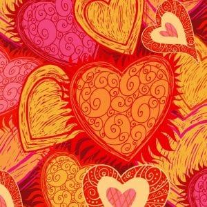 День святого Валентина раскраски