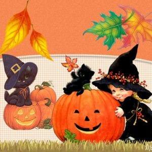 Хэллоуин раскраски