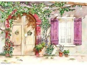 Двери и арки раскраски
