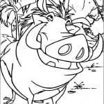 А4 лев распечатать бесплатно раскраска король
