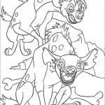 А4 раскраска король лев распечатать бесплатно
