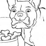 антистресс собаки в хорошем качестве раскраски