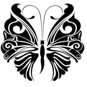 бабочек распечатать раскраски про