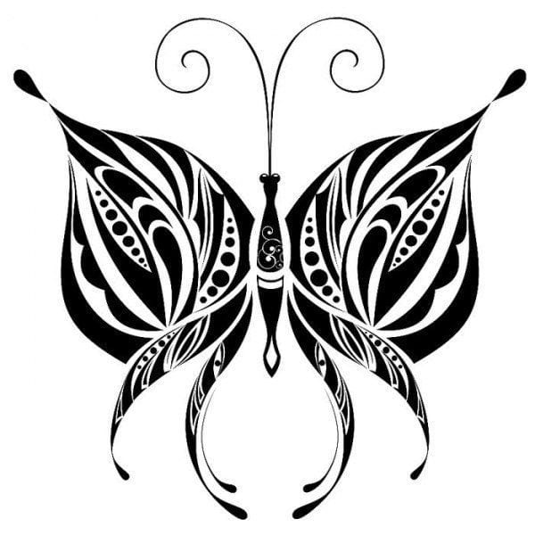бабочка для детей 3 4 лет раскраска