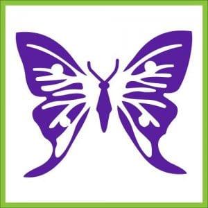 бабочка распечатать для малышей раскраска