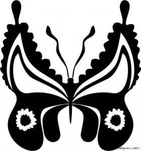 бабочки распечатать раскраска для девочек