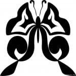 бабочки скачать бесплатно раскраски