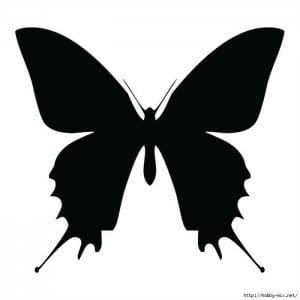 белые распечатать картинки раскраски бабочки черно