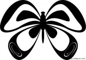 бесплатно 3 4 лет раскраска бабочка для детей