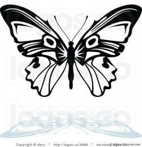 бесплатно бабочек распечатать раскраски про