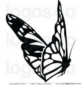 бесплатно бабочка для детей 3 4 лет раскраска