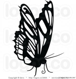 бесплатно бабочка для детей 5 лет раскраска