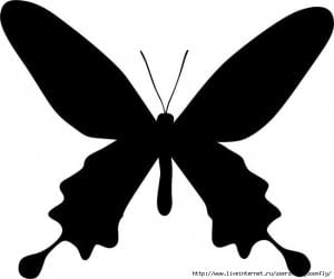 бесплатно бабочки для детей распечатать раскраска