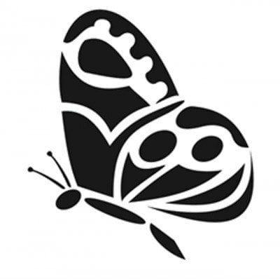 бесплатно бабочки раскраски декора