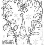 бесплатно детей раскраска новый год для