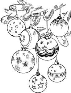 бесплатно для детей новый год распечатать раскраски А4