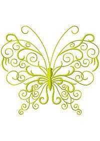 бесплатно для детей раскраска бабочка рисунок