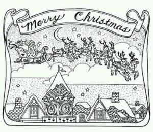 бесплатно для детей раскраски новый год картинки А4