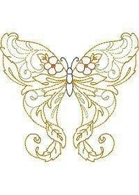 бесплатно для девочек бабочки раскраски