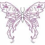 бесплатно для девочек бабочки распечатать раскраска