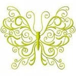 бесплатно для малышей раскраска бабочка